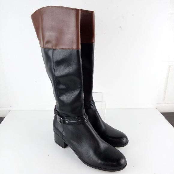 1a3e3f470bb Bandolino Knee High Boots Women Size 10 Black